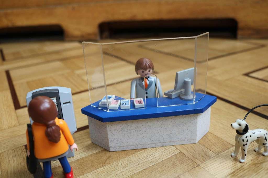 Playmobil banque 4402