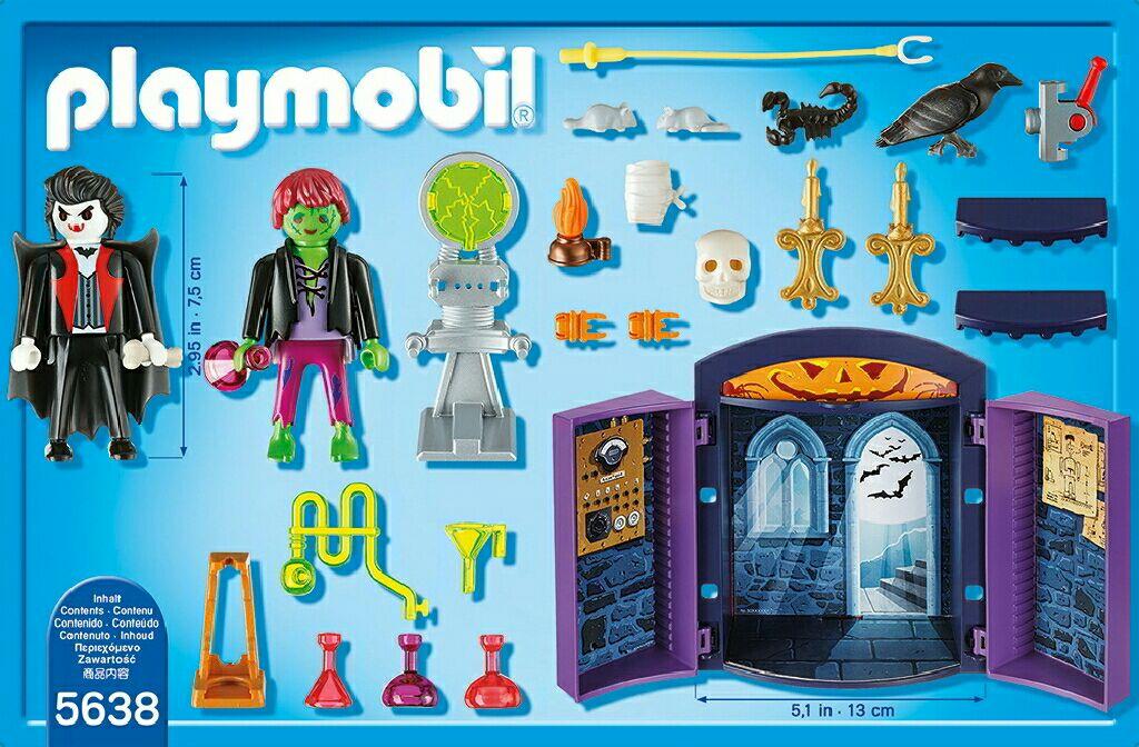 Playmobil maison halloween