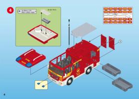 Playmobil caserne pompier notice