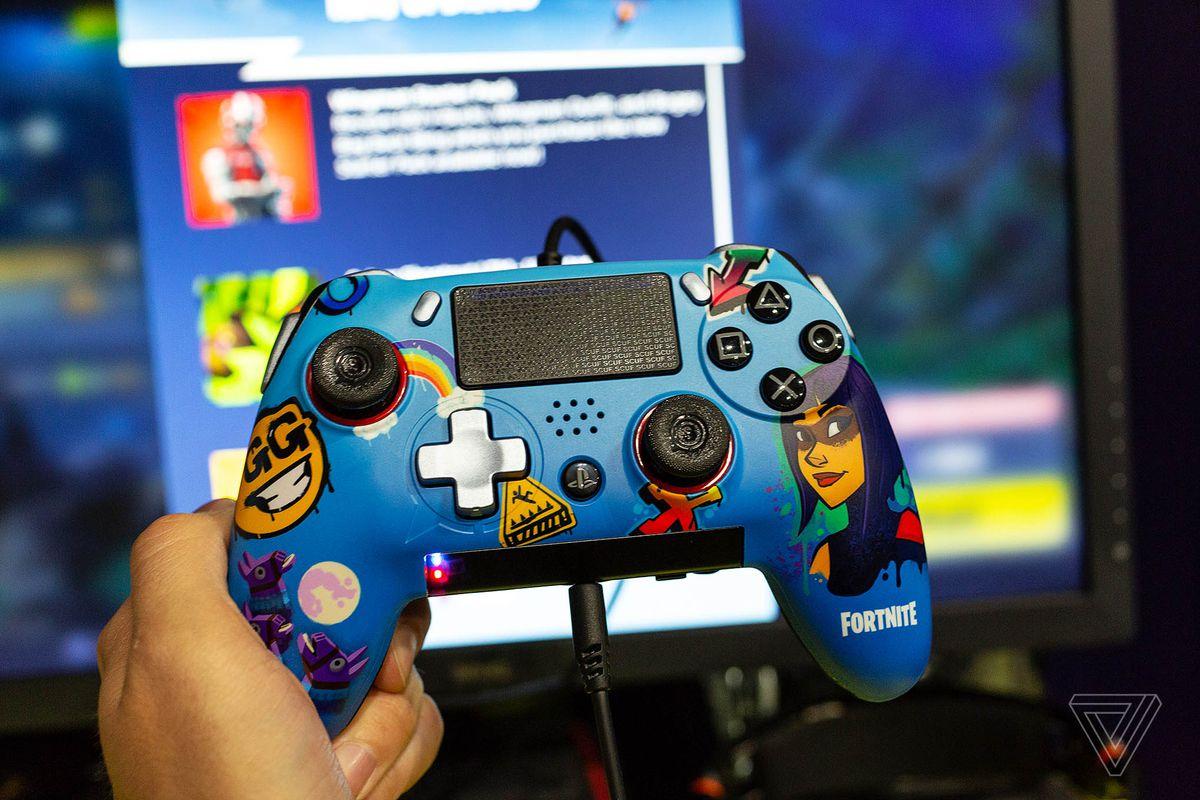 Fortnite pc joystick ps3