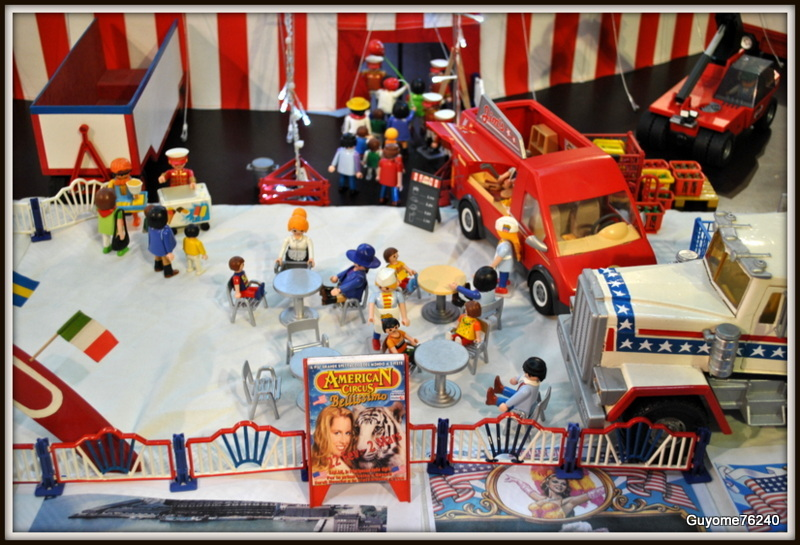 Playmobil monde du cirque