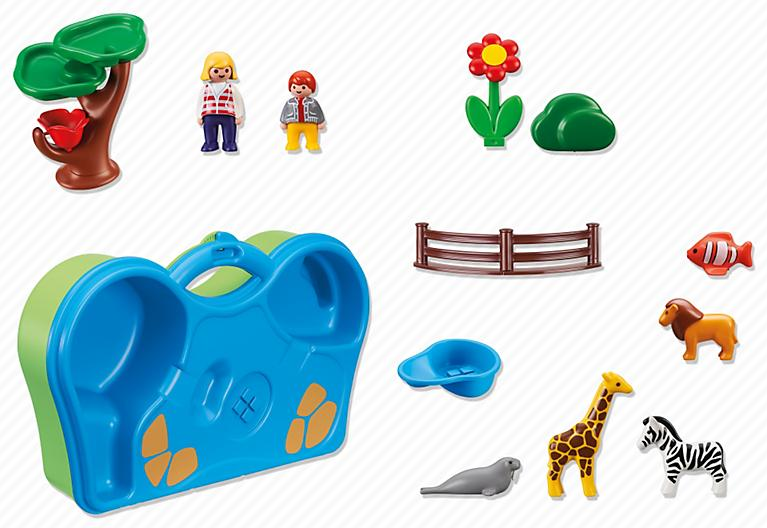 Malette playmobil animaux