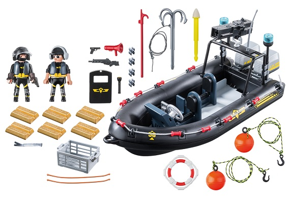 Playmobil city action bateau