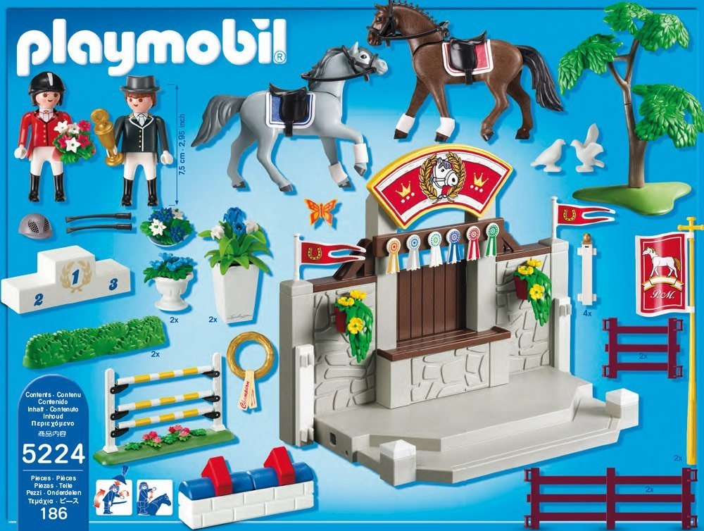Playmobil country horse paddock superset