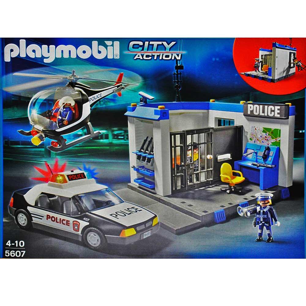 Playmobil city action polizeihubschrauber