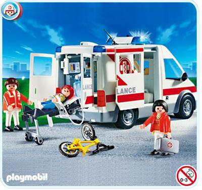 Playmobil emergency ambulance
