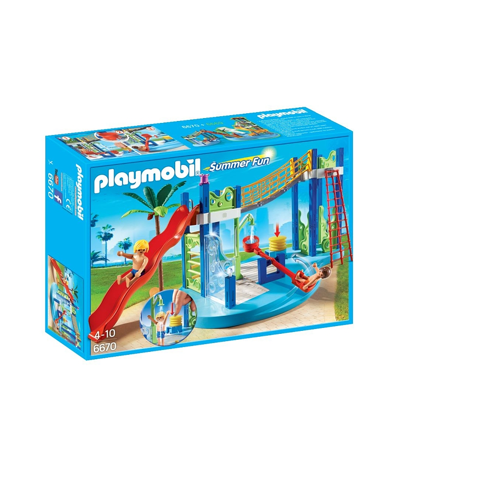 Playmobil 6670 summer fun - aire de jeux aquatique
