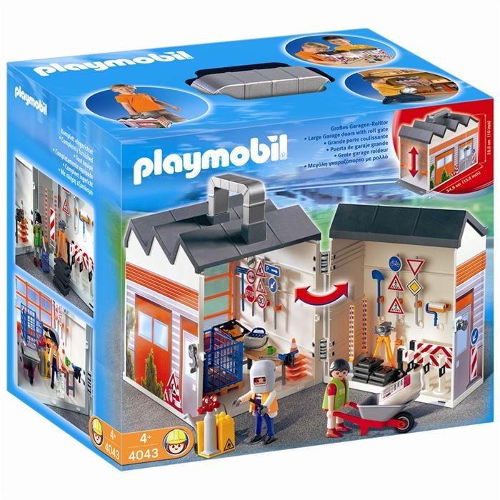 Playmobil atelier chantier