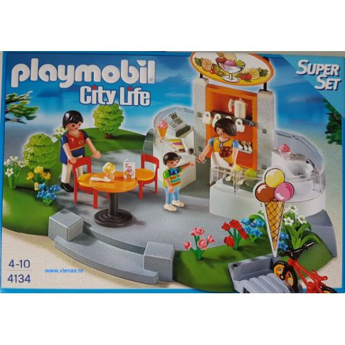 Playmobil city life ijssalon
