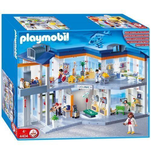 Hopital playmobil 4404 occasion