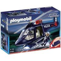 Playmobil action hélicoptère