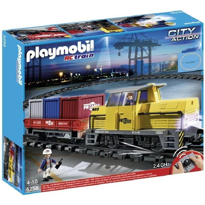 Playmobil city action train