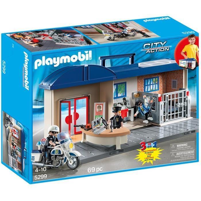 Playmobil police commando