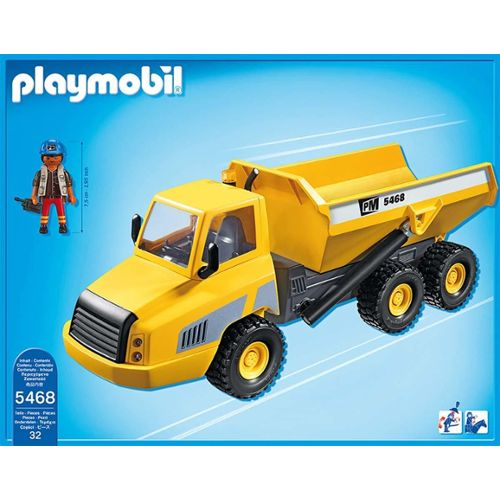 Playmobil city action camion benne