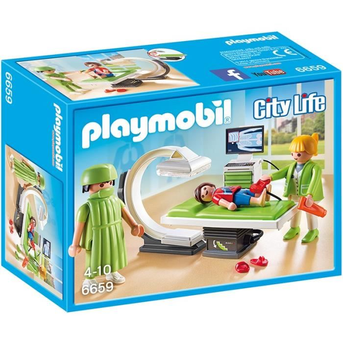 Playmobil hopital pediatrique king jouet