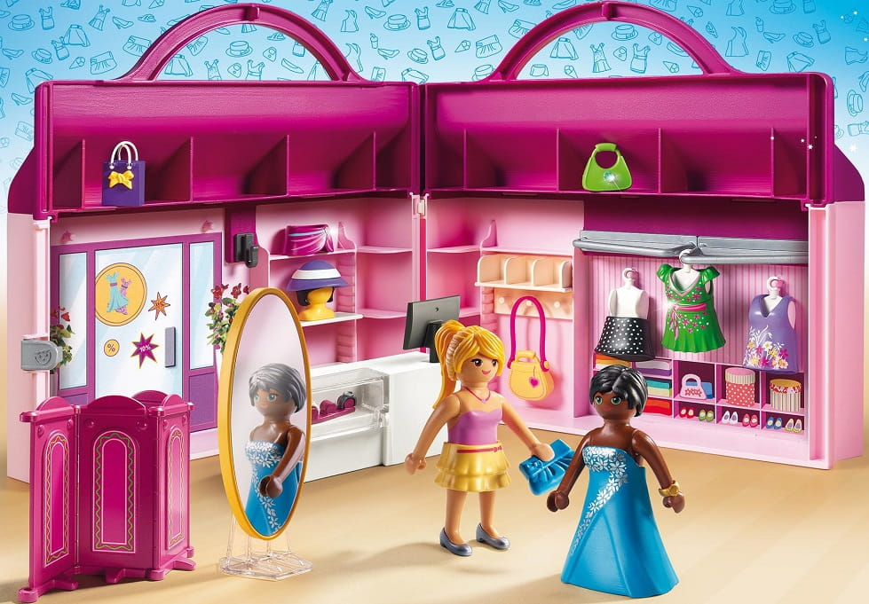 Playmobil city life boutique de vetement
