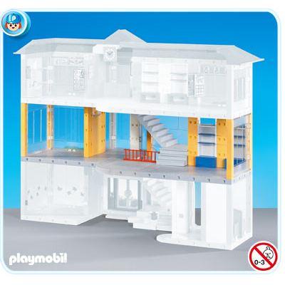 Playmobil hopital etage supplementaire