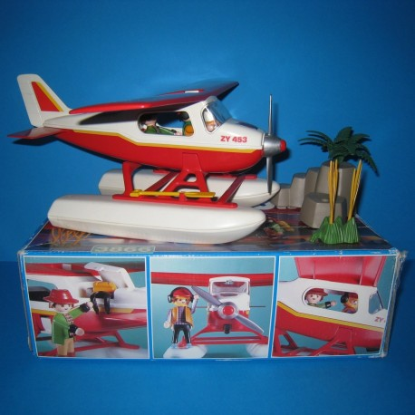 Playmobil avion savane