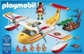 Avion rescate playmobil
