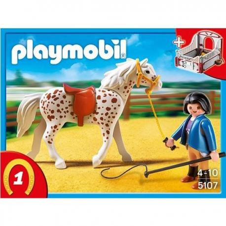 Playmobil cheval a bascule