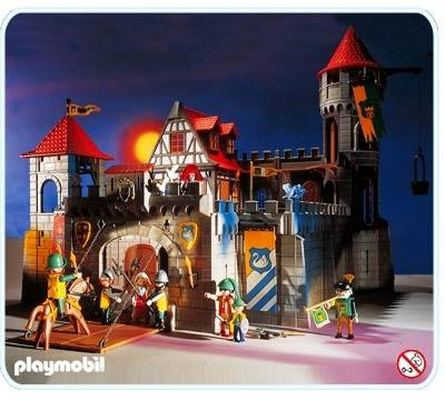 Playmobil chateau fort valise