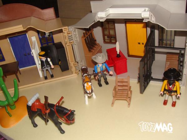 Banque transportable playmobil