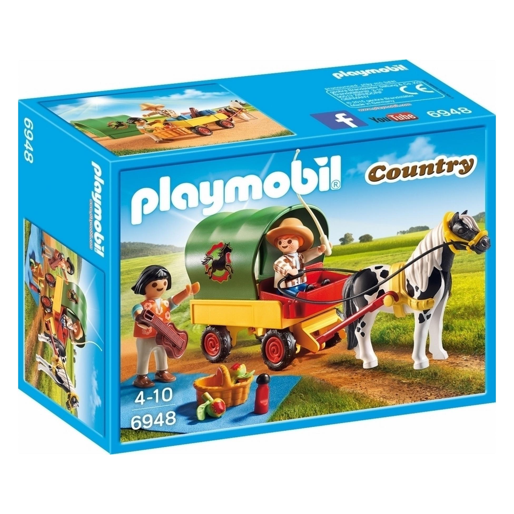 Playmobil opbergbox country