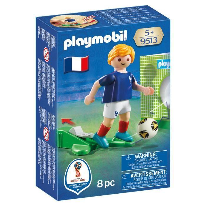 Joueur de foot playmobil cdiscount