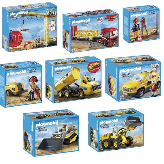 Playmobil city life chantier