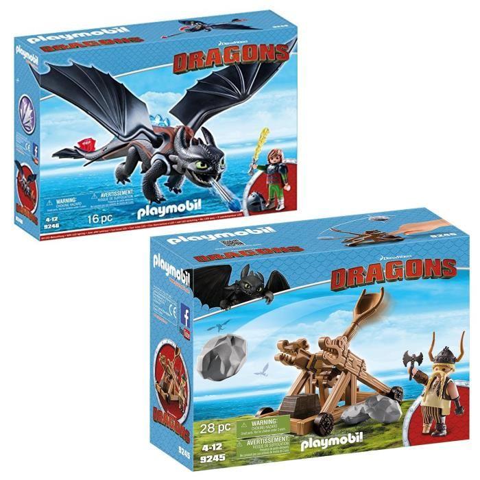 Playmobil dragon 9246 pas cher