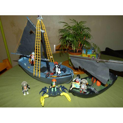 Playmobil bateau de guerre