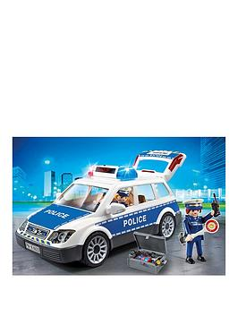 Playmobil city action police auchan