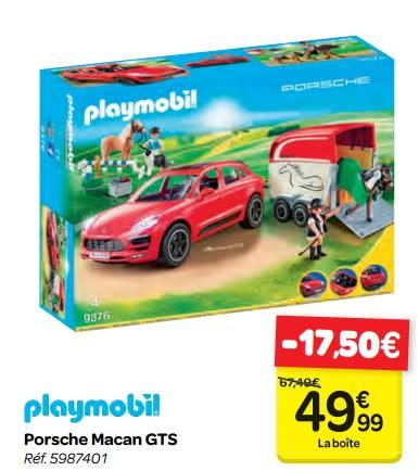 Playmobil parc aquatique carrefour