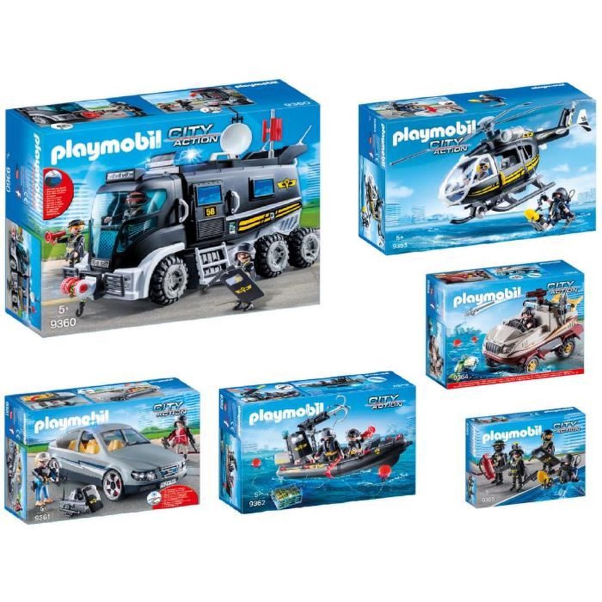 Playmobil police cdiscount