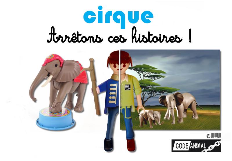 Playmobil elephant du cirque