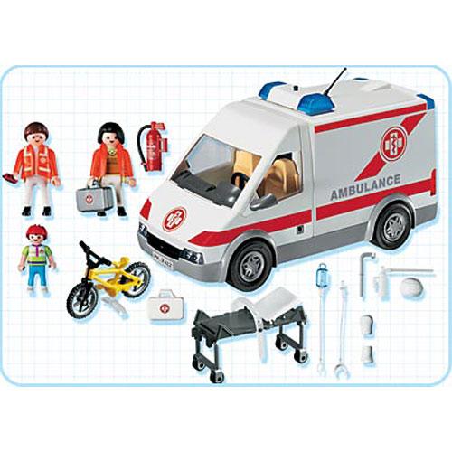 Playmobil l'ambulance