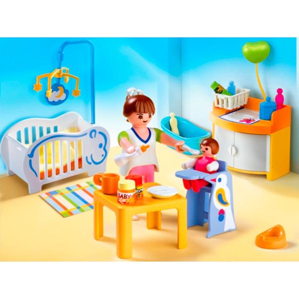 Playmobil cambiador de bebe