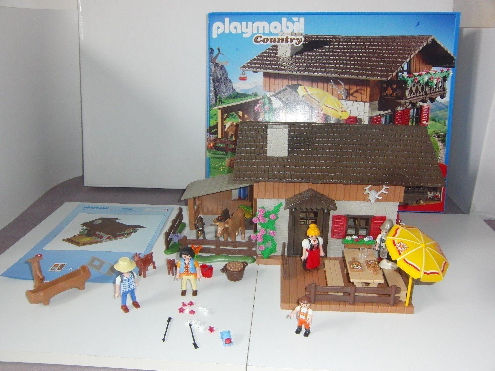 Playmobil country alpine lodge