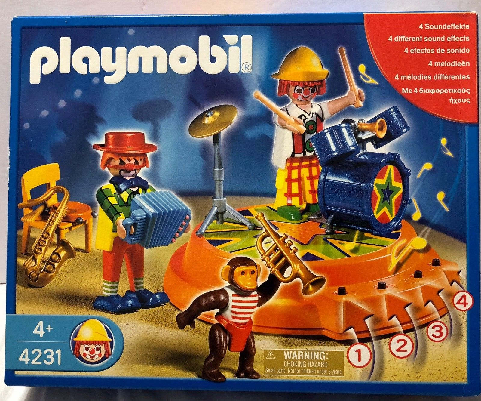 Playmobil cirque 4231 notice