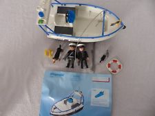 Playmobil bateau douane