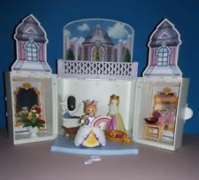 Chateau princesse playmobil transportable 5419