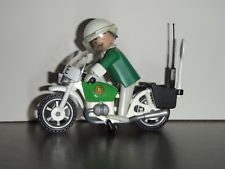 Playmobil 4262 police officer motorcycle