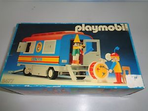 Playmobil cirque roulotte