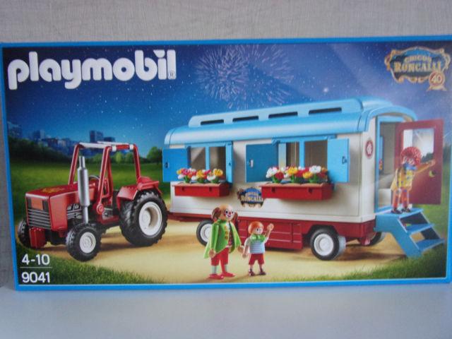 Playmobil caravane cirque