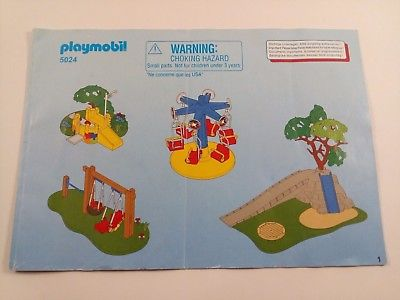 Plan aire de jeux playmobil