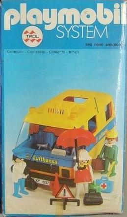 Playmobil lufthansa bus