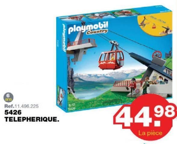 Playmobil téléphérique