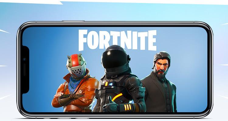 Fortnite battle royale mobile app