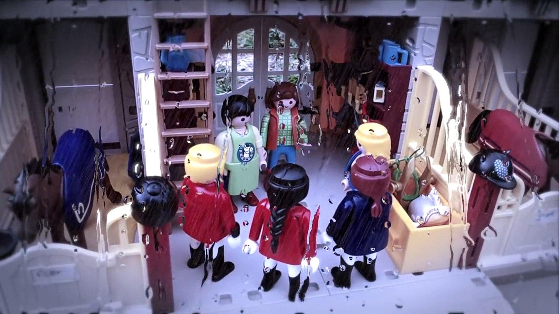 Film playmobil au centre equestre