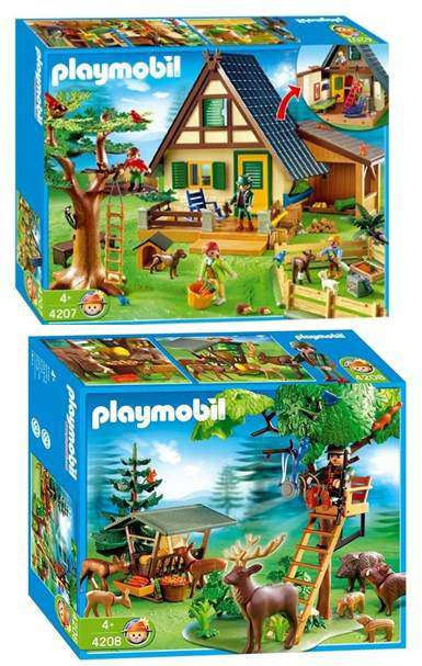 Playmobil maison jungle
